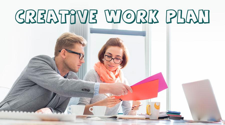 creative work plan