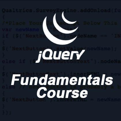 jQuery Fundamentals Course