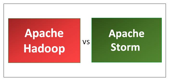 Apache Hadoop vs Apache Storm