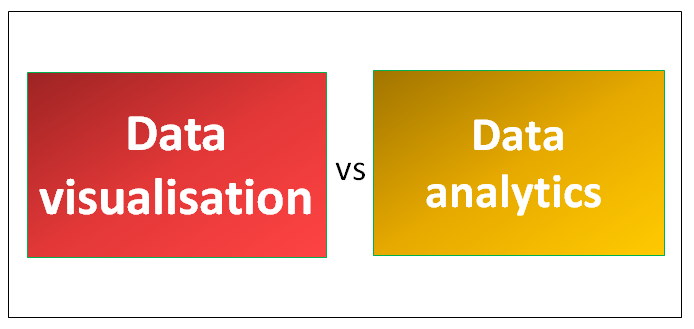 Data visualisation vs Data analytics