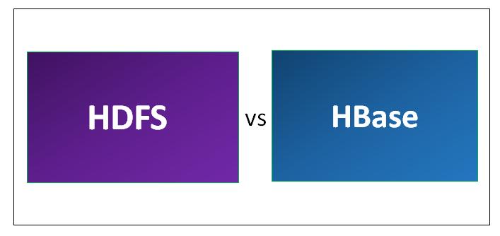 HDFS vs HBase