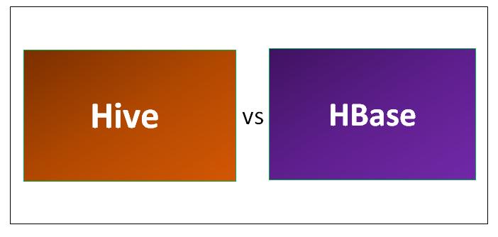 Hive vs HBase