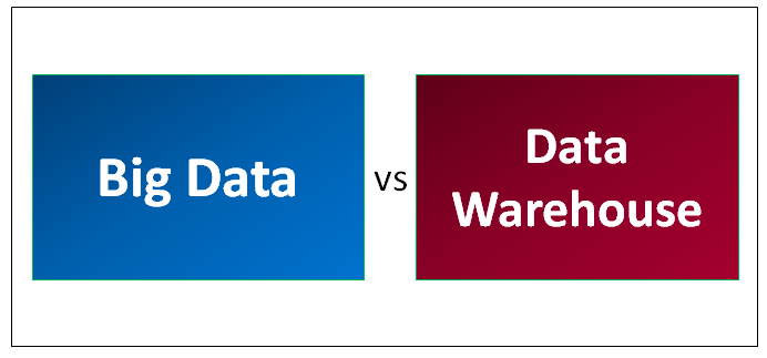 Big Data vs Data Warehouse - Find Out The Best Differences