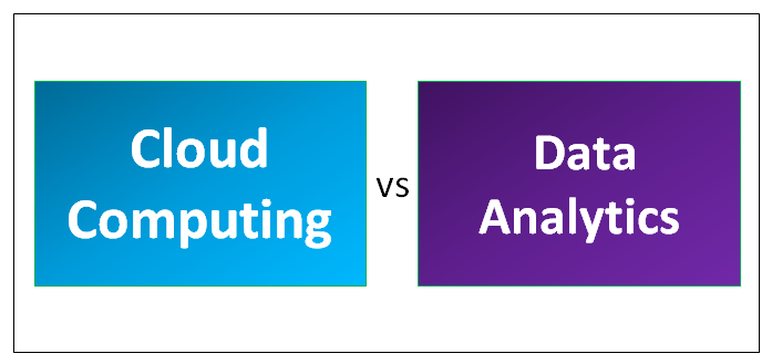 Cloud Computing vs Data Analytics