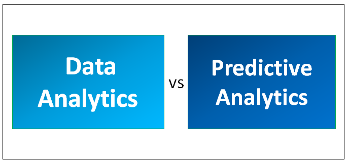 Data Analytics Vs Predictive Analytics