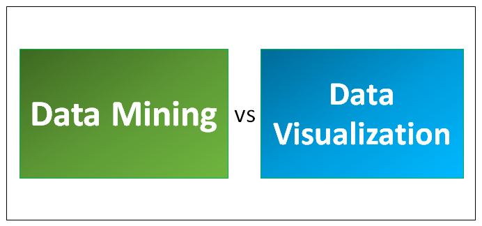 Data Mining vs Data Visualization