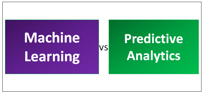 Machine Learning vs Predictive Analytics