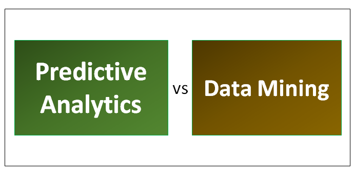 Predictive Analytics vs Data Mining