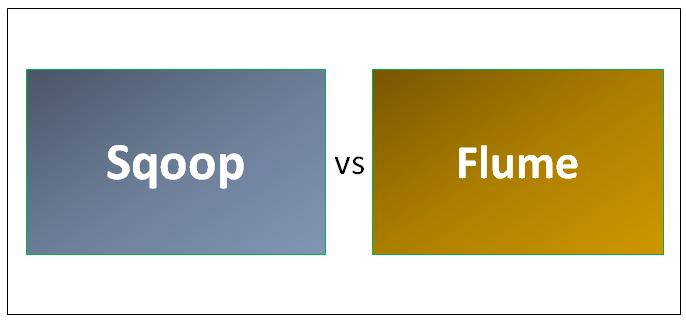 Sqoop vs Flume