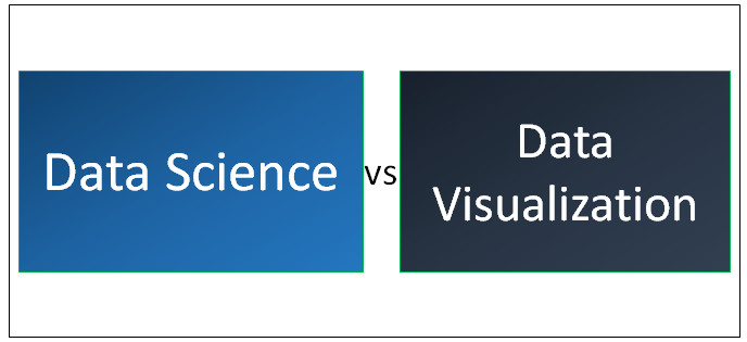 Data Science vs Data Visualization
