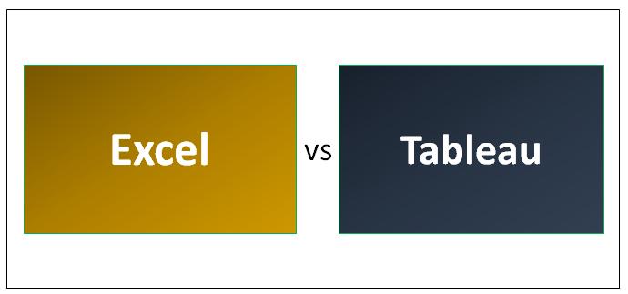 Excel vs Tableau