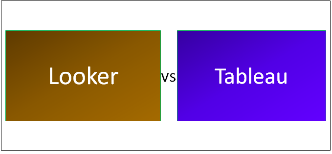 Looker vs Tableau