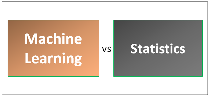 Machine Learning vs Statistics