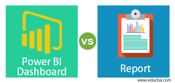 Power BI Dashboard vs Report