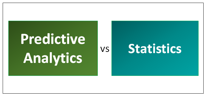 Predictive Analytics vs Statistics