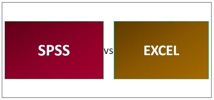 SPSS vs EXCEL