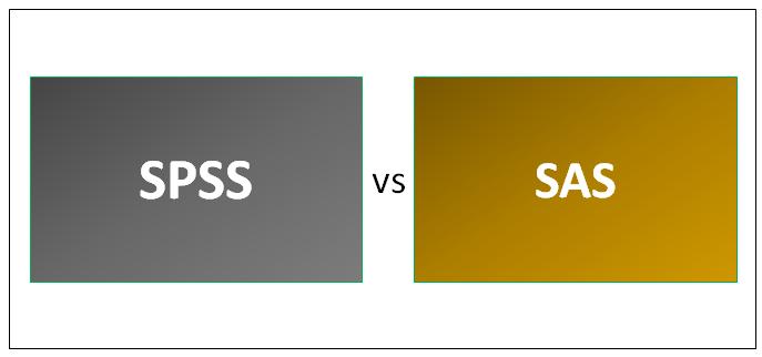 SPSS vs SAS