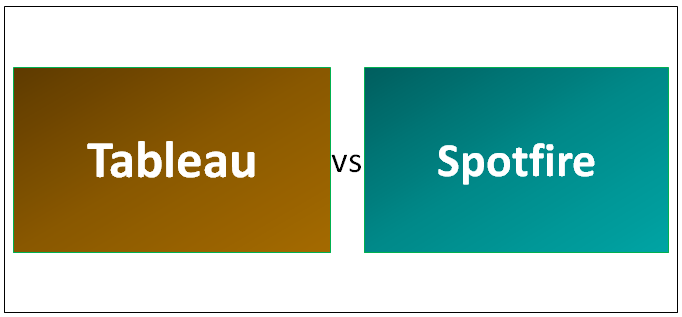 Tableau vs Spotfire - Which One Is Better (Infographics)