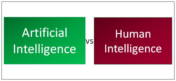 Artificial Intelligence vs Human Intelligence - 5 Useful