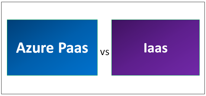 Azure Paas vs Iaas