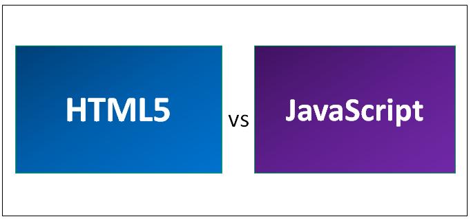 HTML5 vs JavaScript
