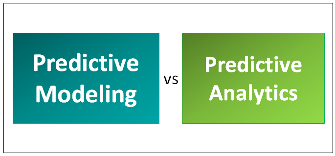 Predictive Modeling vs Predictive Analytics