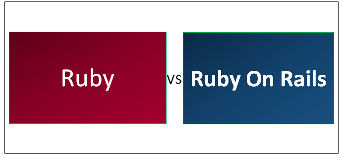 Ruby vs Ruby On Rails