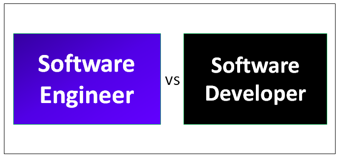 Software Engineer vs Software Developer