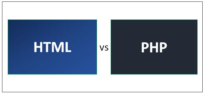 HTML vs PHP