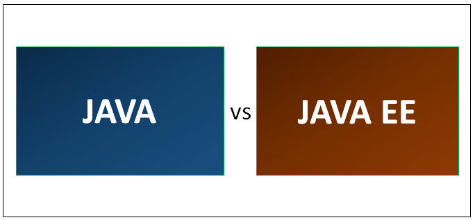 JAVA vs JAVA EE