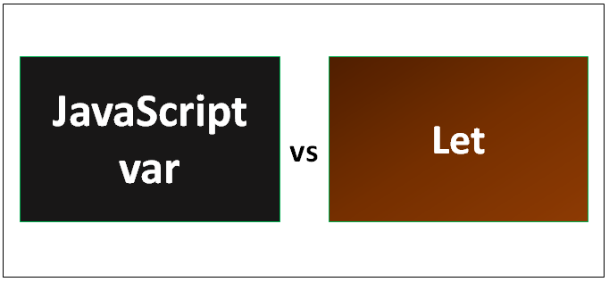 JavaScript var vs Let