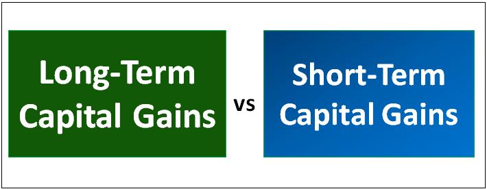 Long-term vs Short-term Capital Gains