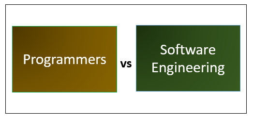 Programmers vs Software Engineering