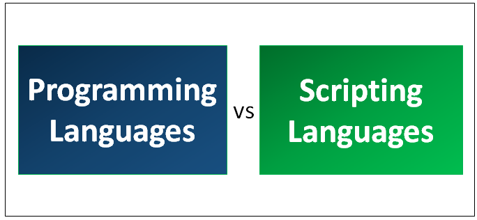 Programming vs Scripting Languages