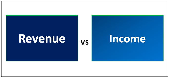 Revenue vs Income