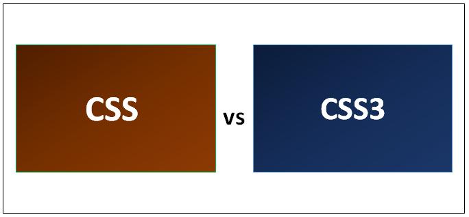 CSS vs CSS3