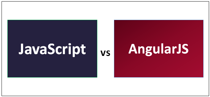 JavaScript vs AngularJS