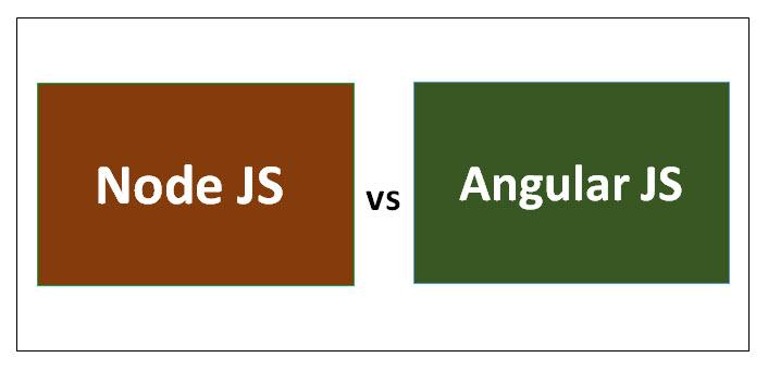 Node JS vs Angular JS