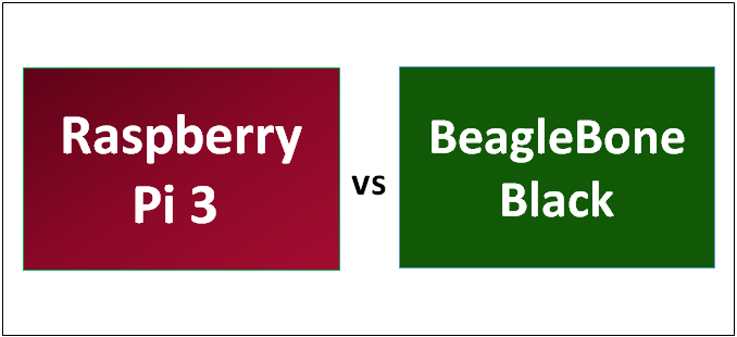 Raspberry Pi 3 vs BeagleBone Black