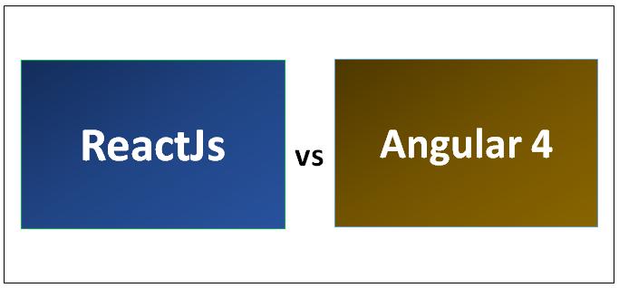 ReactJS vs Angular 4