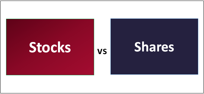 Stocks vs Shares