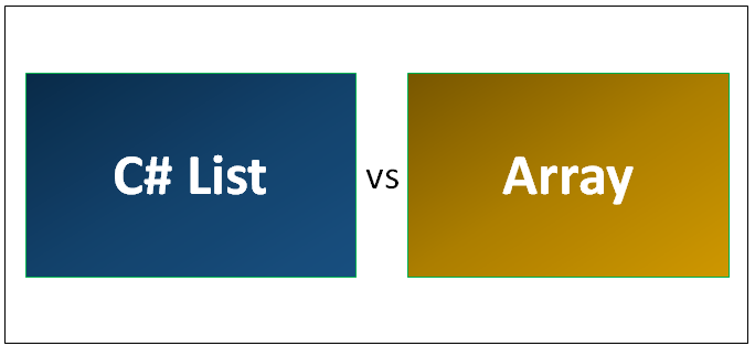 C# List vs Array