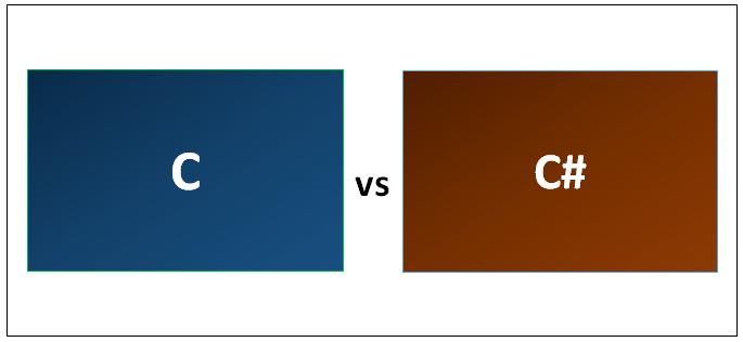 C vs C#