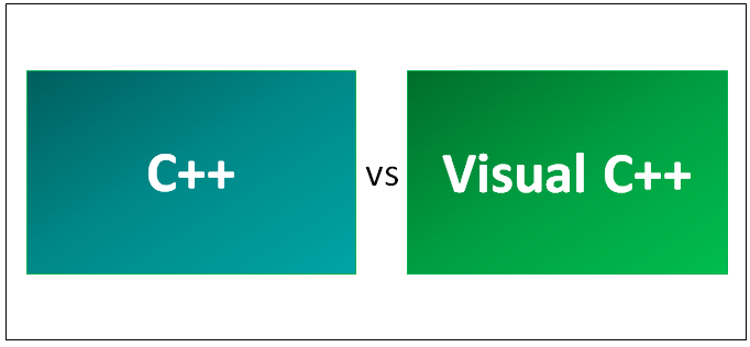 C++ vs Visual C++