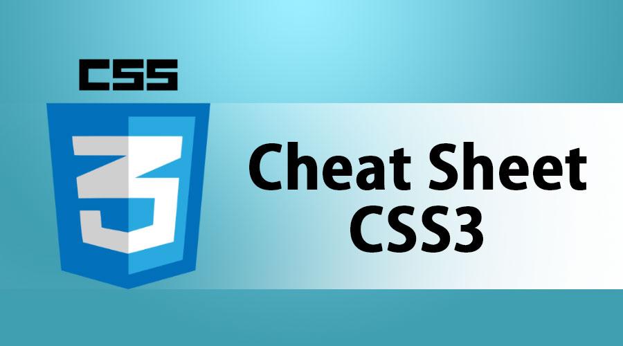 Cheat Sheet CSS3