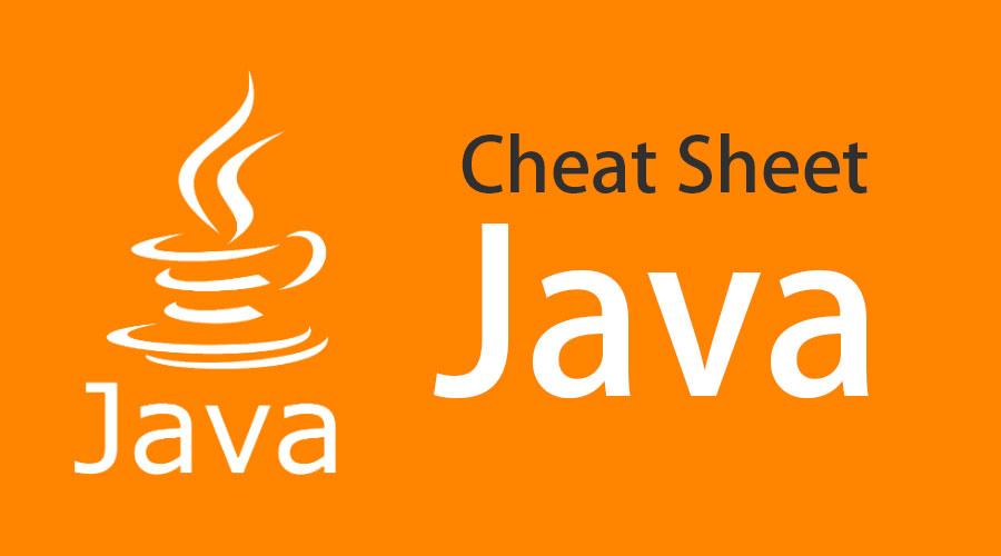 Cheat Sheet Java