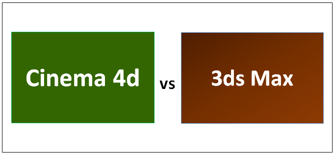 Cinema 4d vs 3ds Max Infographics