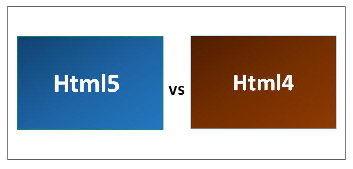 Html5 vs Html4