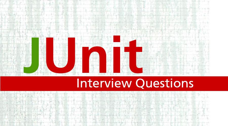 Junit Interview Questions