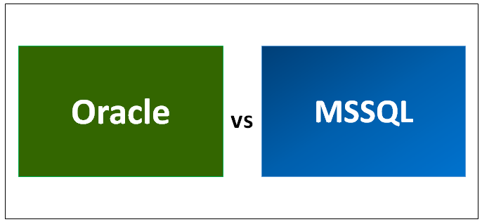 Oracle vs MSSQL Infographics